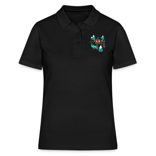 Weihnachten Elch I Geschenk Winterstimmung - Frauen Polo Shirt