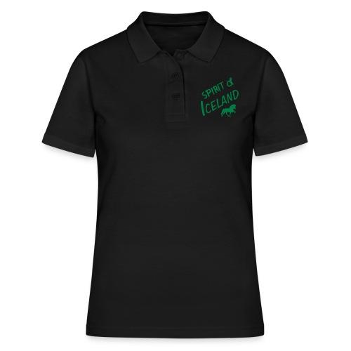 4gaits ruecken - Frauen Polo Shirt
