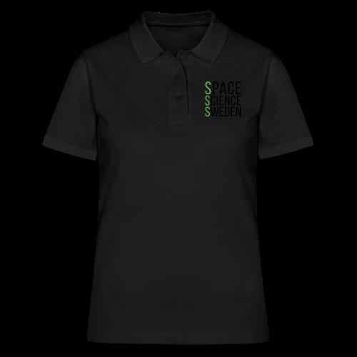 Space Science Sweden - svart - Women's Polo Shirt