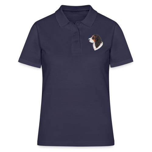 bassethound color - Women's Polo Shirt