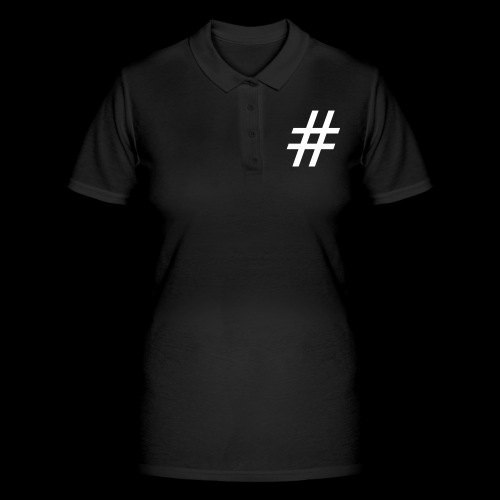 Hashtag Team - Frauen Polo Shirt