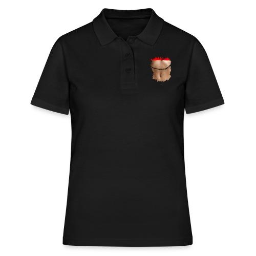 t shirt minceur brassière rouge ventre plat abdo - Women's Polo Shirt