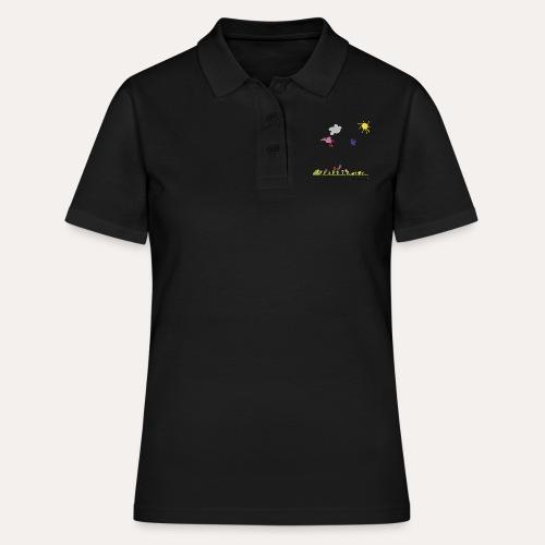 Blumenwiese von Marie - Frauen Polo Shirt