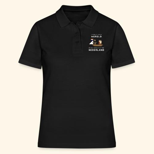 Iedereen is van de wereld... - Women's Polo Shirt