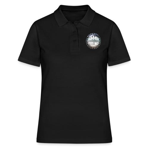 LIMITED SUMMER FEELING Schriftzug - Frauen Polo Shirt