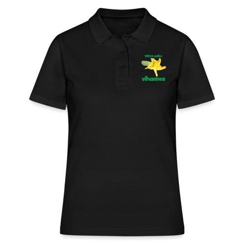 Viittä vaille vihannes, avomaankurkku - Women's Polo Shirt
