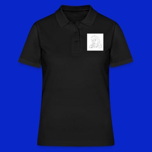 Jonny C cartoon drawing - Women's Polo Shirt