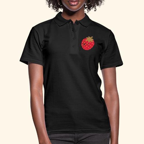 Erdbeere - Frauen Polo Shirt
