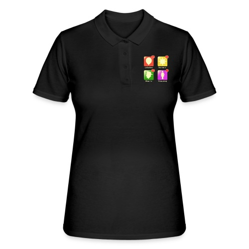 Muziek apps - Women's Polo Shirt