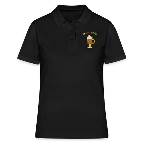 Harru Irish med kopp - Poloskjorte for kvinner