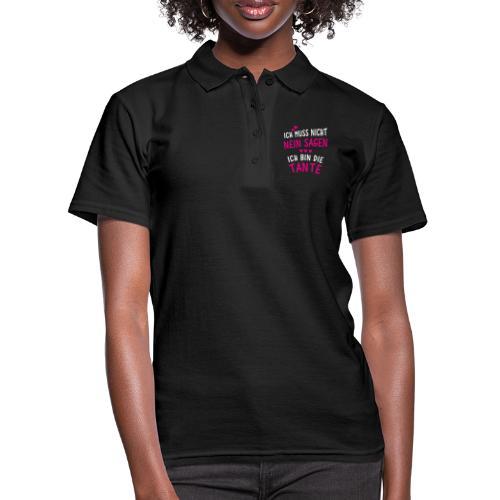 Ich bin die Tante - Frauen Polo Shirt