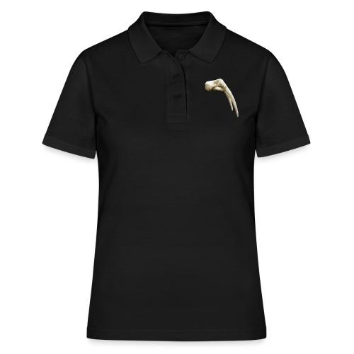 Schedel van een walrus - Women's Polo Shirt