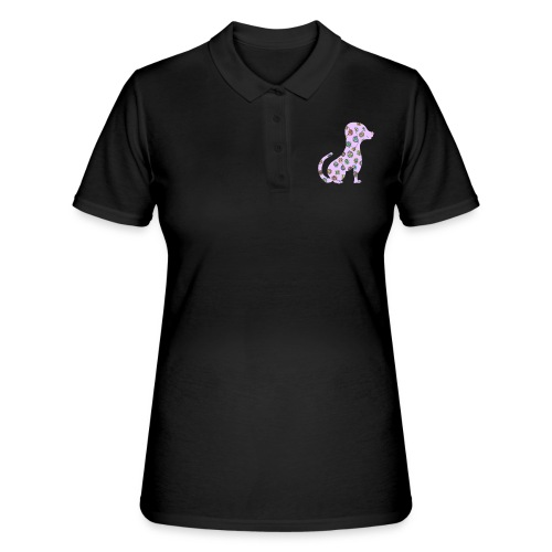 Lilo le chien fleuri - Women's Polo Shirt