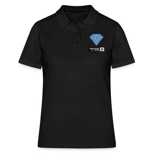 Unisex Diamond Pantone Little Boy Bluewass - Frauen Polo Shirt
