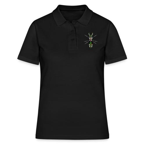 insekt skalbagge med mandibles stor munklo - Women's Polo Shirt