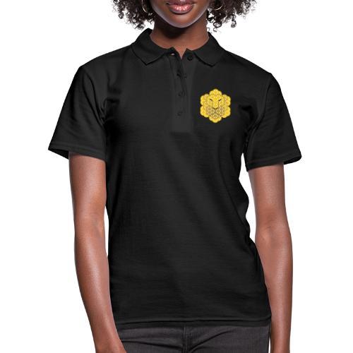 The Lion Of Life - Alpha Male, Mane 01. - Women's Polo Shirt