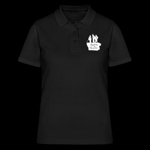 logo apache blanc - Women's Polo Shirt