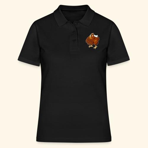 Verrücktes Huhn - Frauen Polo Shirt