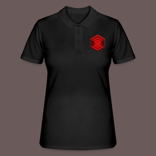 Hexagon Cube - Women's Polo Shirt