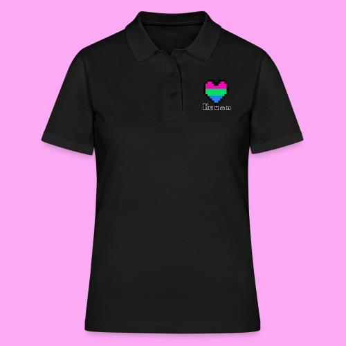 Pride heart poly - Naisten pikeepaita