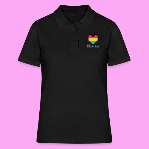 Pride heart pansexual - Naisten pikeepaita