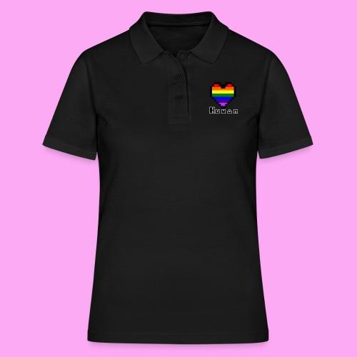Pride heart - Naisten pikeepaita