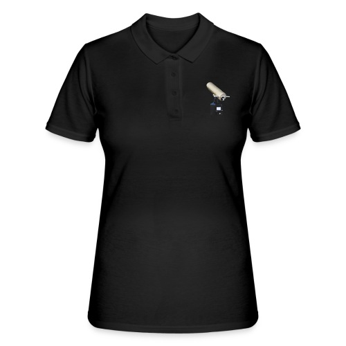 fernglas fernrohr fokus teleskop hinkucker - Frauen Polo Shirt