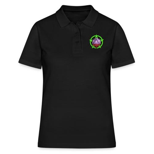 Würfel RPG Spiel Rollenspiele 666 mit Pentagramm - Frauen Polo Shirt