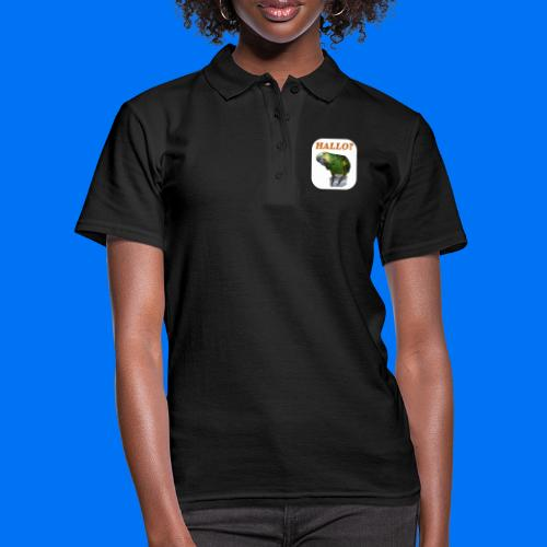 Hallo Papagei - Frauen Polo Shirt