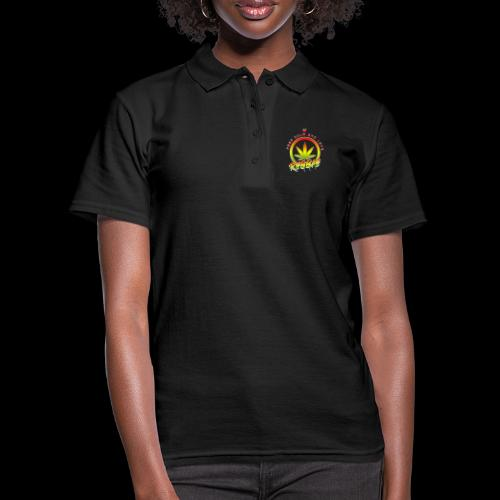 KEEP CALM LOVE REGGAE wht edge - Women's Polo Shirt