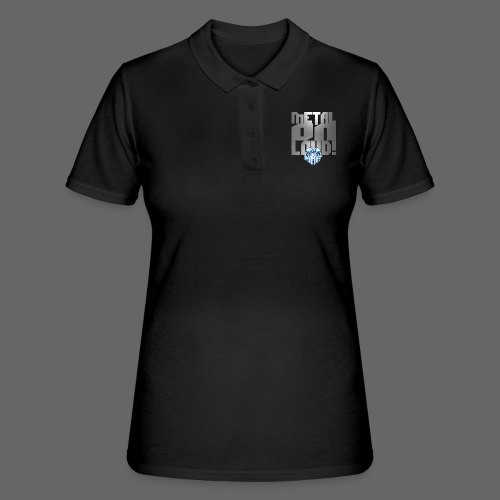 metalonloud large 4k png - Women's Polo Shirt