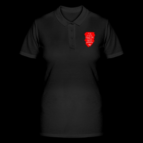 Krwisty kubek - Koszulka polo damska