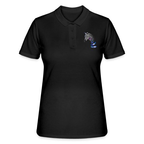 Vibrant Zebra - Women's Polo Shirt