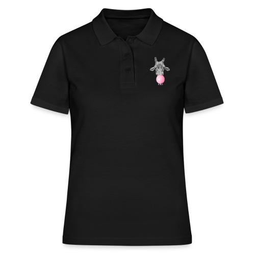 Giraffe bubblegum - Women's Polo Shirt