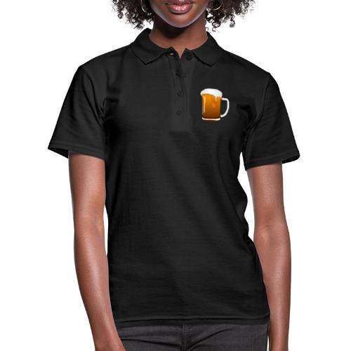 Cartoon Bier Geschenkidee Biermaß - Frauen Polo Shirt