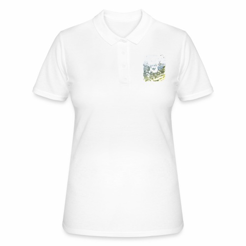 Pablo Escobar distressed - Frauen Polo Shirt