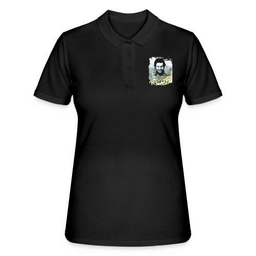 Pablo Escobar distressed - Frauen Polo Shirt