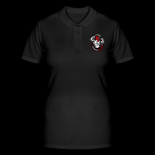 FitnessBauer in Rot - Frauen Polo Shirt