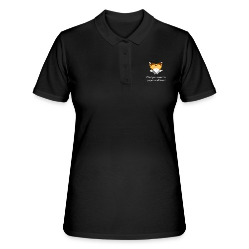 Origami Owl - Owl you need is paper and love! - Women's Polo Shirt