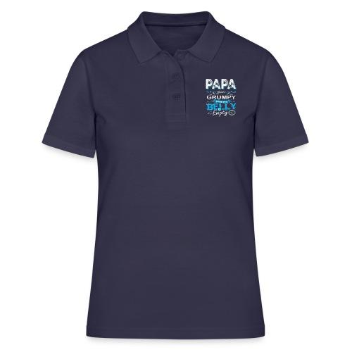 PAPA GETS GRUMPY... - Women's Polo Shirt