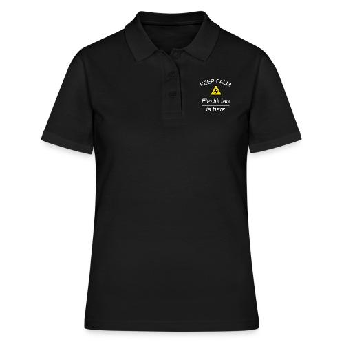 Keep Clam - Elektriker - Frauen Polo Shirt