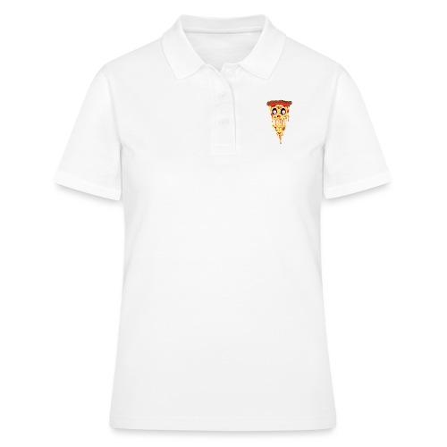 Schockierte Horror Pizza - Frauen Polo Shirt