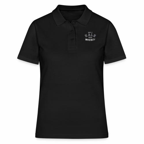 Kale University - Grünkohl Universität - Veganer - Frauen Polo Shirt