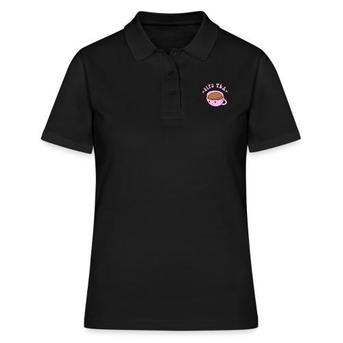 Sips Tea Meme - Women's Polo Shirt
