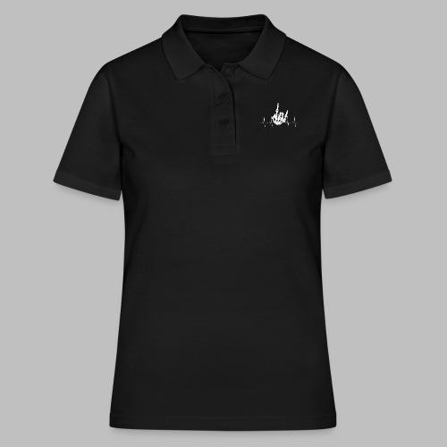 Pommesgabel EKG Mein Herz schlägt Heavy Metal Rock - Frauen Polo Shirt