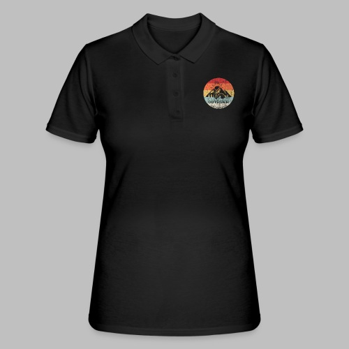CAMPING I HATE PEOPLE Geschenkidee - Frauen Polo Shirt