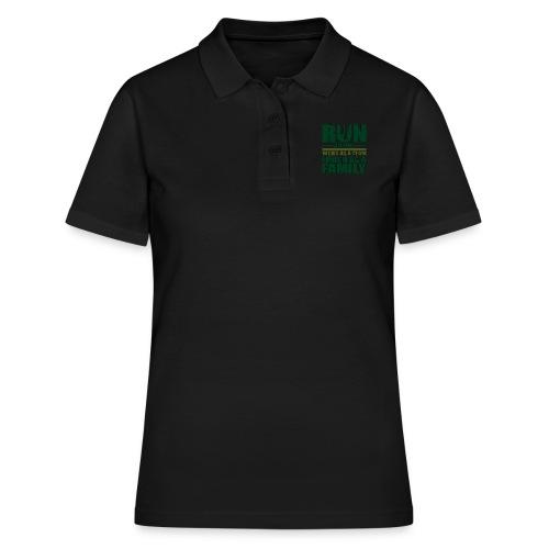 Running Team Gift Run as One Work as a Team - Women's Polo Shirt