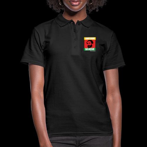 EMPORER SELASSIE red gold green - Frauen Polo Shirt