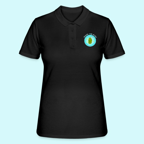 frank der alien - Frankenstein sifi - Frauen Polo Shirt