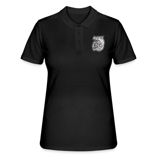 wesen mit herz und logo - Frauen Polo Shirt
